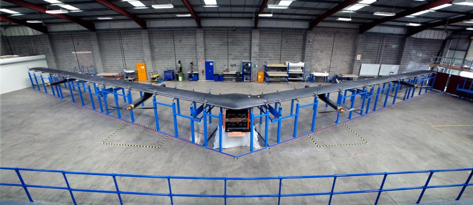 Facebook จะปล่อยสัตว์ประหลาดแล้ว Aquila internet drone