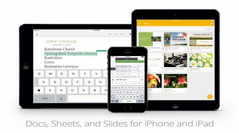 วันนี้กูเกิลได้ปล่อยแอพ Google Slides ซึ่งเป็นแอพในตระกูลจัดการงานเอกสารสำหรับ iOS ออกมาแล้ว จากที่ก่อนหน้านี้มี Google Docs และ Google Sheets